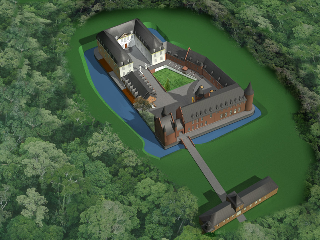proposed design for reuse castle gemert