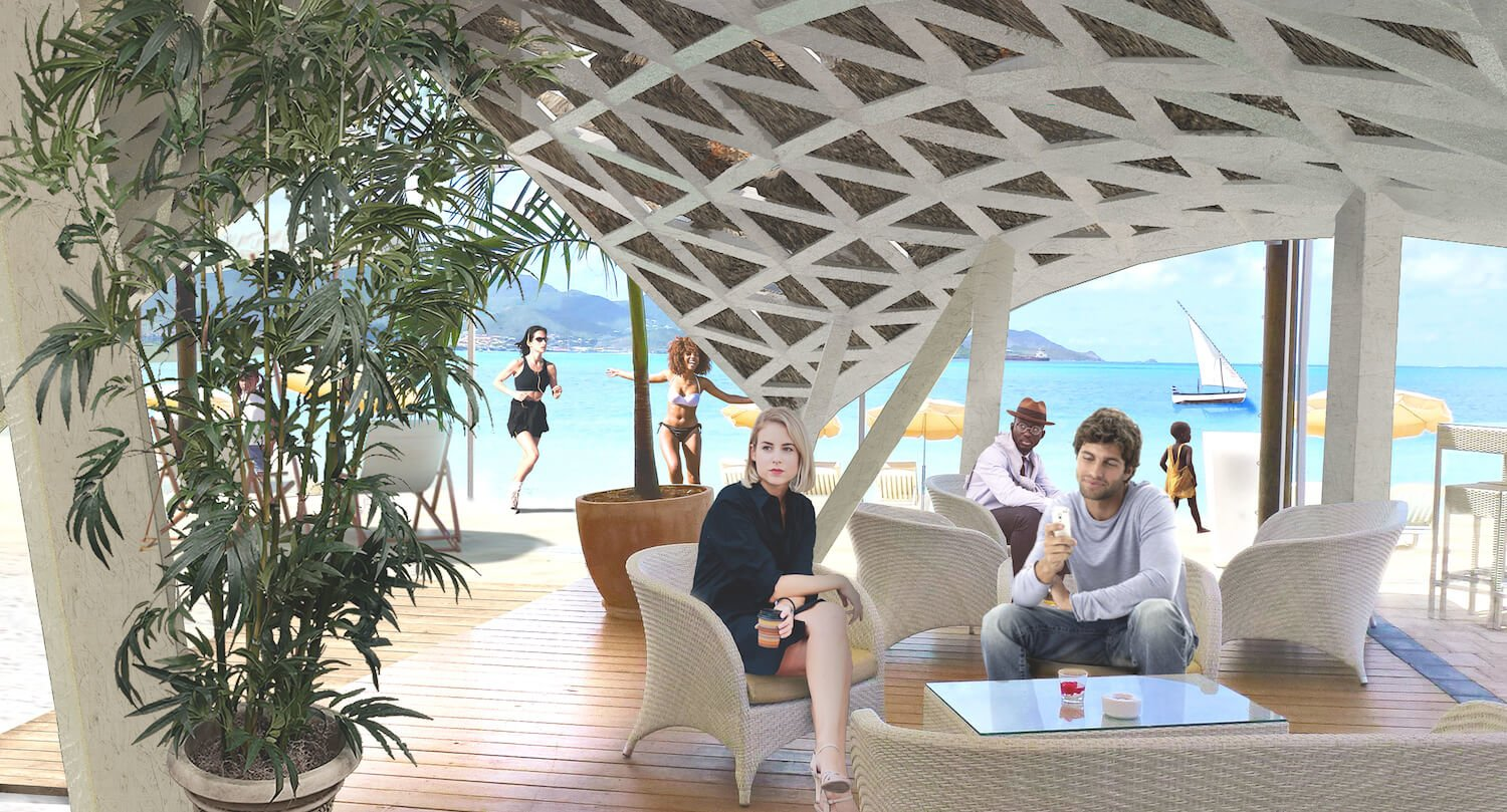 Liong Lie architects Dar es Salaam Yacht Club interior