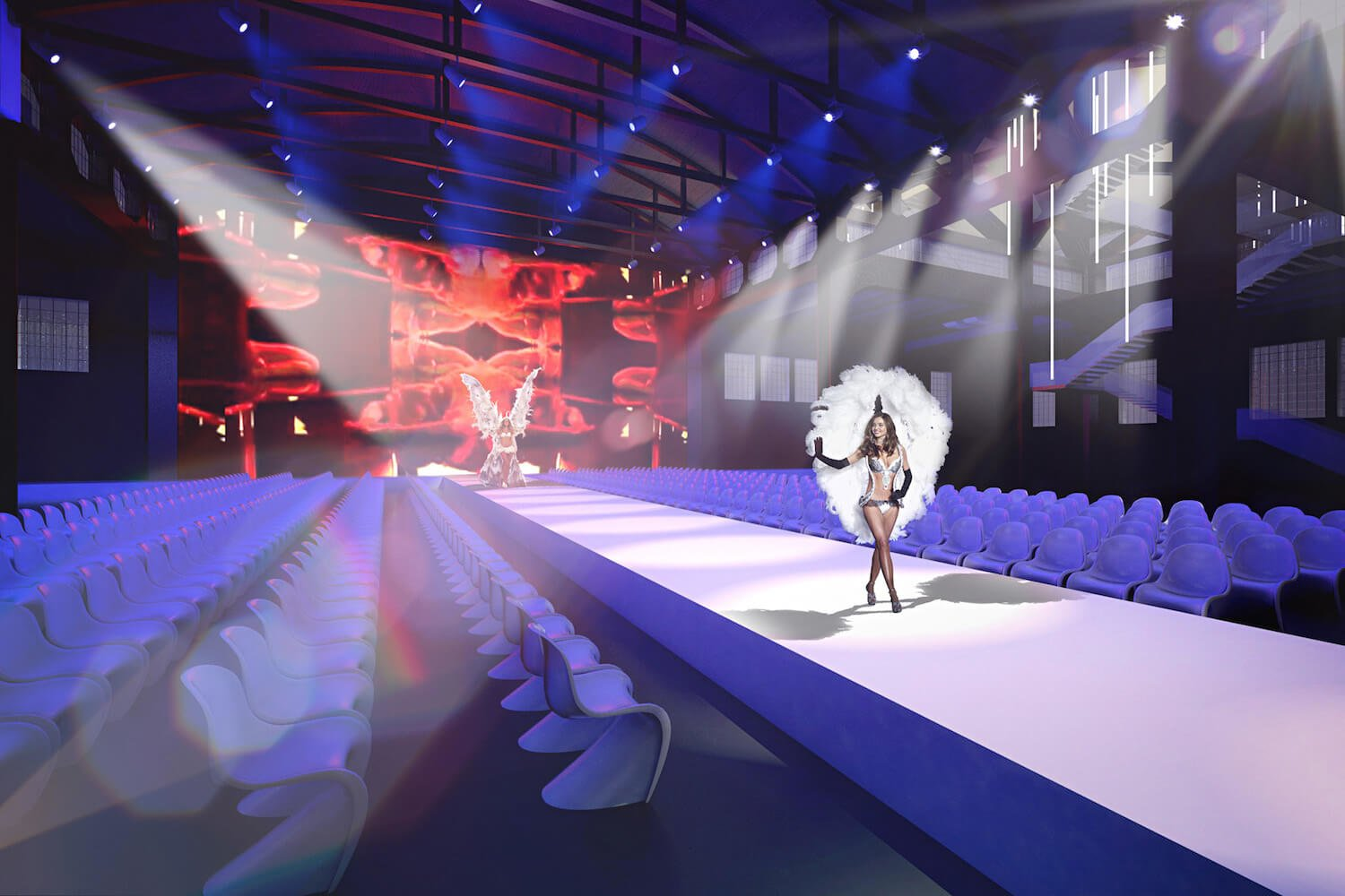 Liong Lie architects Warschaw Theatre catwalk